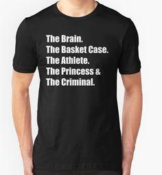 """The Breakfast Club"" T-Shirts & Hoodies by movie-shirts | Redbubble"