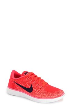 Nike 'Free RN Distance' Running Shoe textile/synthetic red sz7.5 120.00 2/16