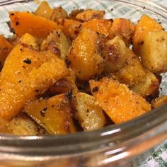 Butternut au four Fall Recipes, New Recipes, Sweet Potato, Pizza, Potatoes, Vegetables, Food, Diners, Plaque