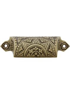 beautiful antique brass drawer pulls by house of antique hardware.