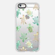 Turtles on Clear - New Standard Case