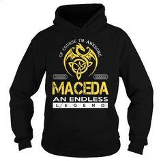MACEDA An Endless Legend (Dragon) - Last Name, Surname T-Shirt - #groomsmen gift…