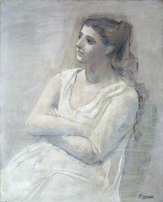 Woman in White, 1923 - Pablo Picasso