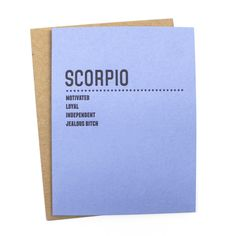 What's your sign? Give your favorite Scorpio some birthday love or just remind…