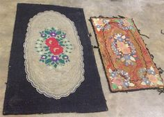 Two Smaller Interior Rugs