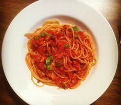 anchovies and garlic yum make with gluten free pasta spaghetti with ...