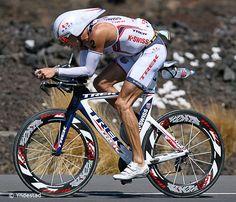 Chris Lieto, owner of the fastest bike splits at Kona 2009, 2010. #Ironman #triathlon