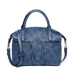 AMELIE GALANTI Women Tote Bag Pillow Bag PU Handbag Solid Shoulder Messenger Bags