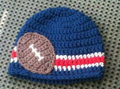 Cute football appliqué!