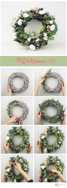 Håndverk til påske Home Decor Baskets, Basket Decoration, Easter Wreaths, Christmas Wreaths, Wreaths Crafts, Easter Traditions, Sunflower Wreaths, Decorating Small Spaces, Diy Wreath