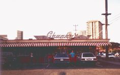 Moiliili...the old Chunky's drive-in by the old Honolulu Stadium.