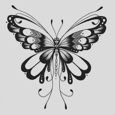 Otra más de la colección de diseños que hice hace algunos meses para la empresa Gumtoo de tatuajes temporales de Singapur #tattoodesign #tattooforgumtoo #design #butterfly #butterflytattoo #lineart #dotwork #artwork #illustration