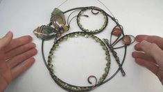 Wire Crafts, Jewelry Making Tutorials, Sun Catcher, Wire Art, Spiders, Copper Wire, Spoons, Contemporary Artists, Metal Jewelry