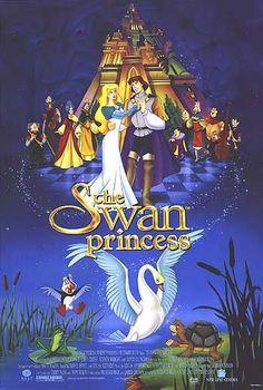 The Swan Princess Movie Poster