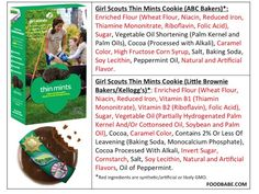 Dissecting Thin Mints Girl Scout Cookies {It Isn't Pretty!} - Food Babe