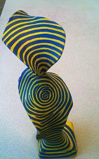 Kids Art Market: Op Art Wire sculptures