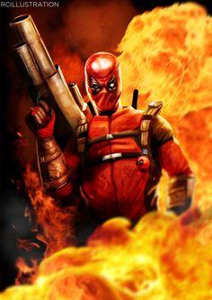 #Deadpool #Fan #Art. (Deadpool) By: Rcrosby93. (THE * 5 * STÅR * ÅWARD * OF: * AW YEAH, IT'S MAJOR ÅWESOMENESS!!!™) [THANK U 4 PINNING!!!<·><]<©>ÅÅÅ+(OB4E)  http://thefearmaster.deviantart.com/art/Deadpool-534624106