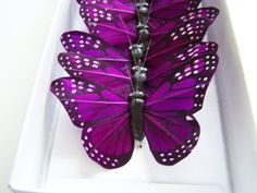 I love purple! And butterflies!