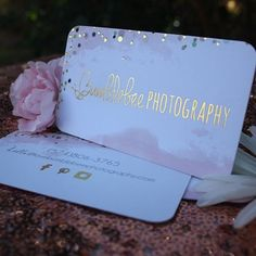 Let your business SHINE with our gold foiled business cards. Visit www.shaynamade.com to order a set to call your own. #shaynamade #girlboss