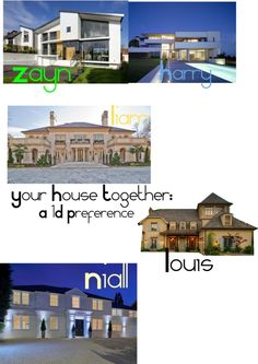"""House- 1D Preference"" by shimmerskye ❤ liked on Polyvore"