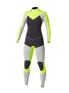 Kassia Cypher 3/2 Back Zip Wetsuit - Roxy