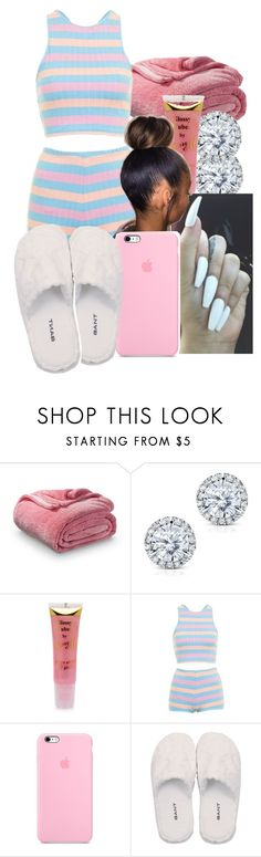 """Laying down"" by pimpcessjayyy ❤ liked on Polyvore featuring Xhilaration, Kobelli, Barry M, Topshop and GANT"