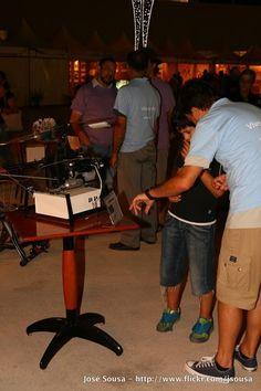Feira de Sant'iago 2013 – 24Jul – Experiências e engenhocas com electrões
