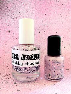Chubby Checker : Custom-Blended Glitter Nail Polish by Lush Lacquer