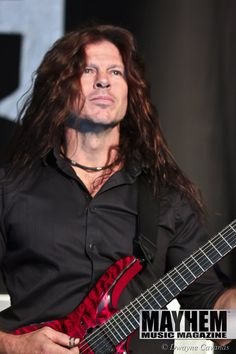 Chris Broderick of Megadeth in Mountain View , Ca. - Photo by Dwayne Cavanas for Mayhem Music Magazine