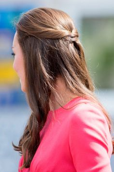 Kate Middleton Tries A Pretty New Hair 'Do For Latest Royal Outing - July 1, 2014