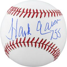 b549c852a19 Hank Aaron Atlanta Braves Autographed Baseball with 755 HRS Inscription –  Fanatics Authentic Certified