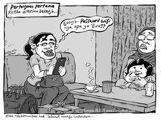 MICE CARTOON - PASSWORD WIFI - Karya: Muhammad Misrad - Sumber: Kompas Minggu - 18 February 2018 (KLIK gambar untuk memperbesar) Peanuts Comics, Cartoon, Humor, Memes, Humour, Meme, Funny Photos, Cartoons, Funny Humor