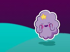 Adventure Time Fanwallpaper - Lumpy Space Princess | Free iOS 7, Android and Desktop Wallpaper.