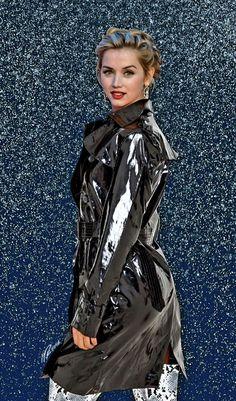 Raincoats For Women Rainy Days Vinyl Raincoat, Pvc Raincoat, Raincoat Jacket, Hooded Raincoat, Plastic Raincoat, Black Rain Jacket, Rain Jacket Women, Raincoats For Women, Vestidos