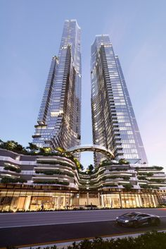 Australia's next tallest towers is part of Residential architecture House Stones - The proposed Orion towers on the Gold Coast designed by Woods Bagot are set to be the next tallest buildings in Australia, if constructed Concept Architecture, Futuristic Architecture, Amazing Architecture, Architecture Design, Islamic Architecture, Architecture Quotes, Architecture Student, Contemporary Landscape, Contemporary Architecture