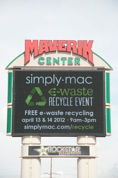 Simply Mac E-waste Recycling Event 2012 E Waste Recycling, Food Drive, Used Computers, Community Events, Mac, March, Poppy