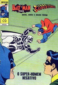 Cover for Invictus (3ª Série) [Batman & Super-Homem] (Editora Brasil-América [EBAL], 1967 series) #52