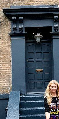 Down Pipe by Farrow and Ball. Abigail Ahern for Prime Minister!