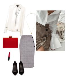 S by t-maria-p on Polyvore featuring polyvore, fashion, style, Thomas Wylde, Maison Margiela, Oscar de la Renta, MAC Cosmetics and clothing
