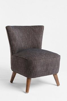 charcoal tweed chair from urban outfitters