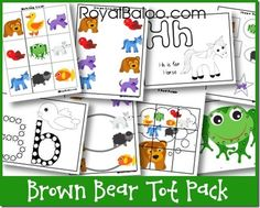 Brown Bear Tot Pack