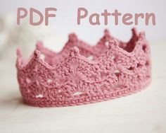 free crochet patterns for baby crowns - Hľadať Googlom