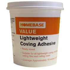 Homebase Value Lightweight Coving Adhesive - 1L at Homebase -- Be inspired and make your house a home. Buy now.