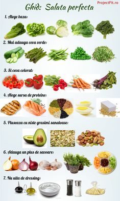 healty food tips / healty food tips Healthy Diet Recipes, Healthy Meal Prep, Diet And Nutrition, Baby Food Recipes, Healthy Life, Cold Vegetable Salads, Vegetable Chart, Helathy Food, Metabolism Boosting Foods