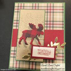 Christmas Moose, Christmas Animals, Christmas Gift Tags, Handmade Christmas, Christmas Holidays, Fall Cards, Winter Cards, Xmas Cards, Holiday Cards