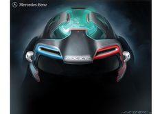 Mercedes Benz Ener-G-Force, SUV, future off-roader, G-Class, 2025, LA Auto Show Design Challenge, futuristic car