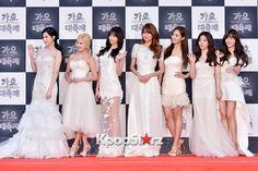 Girls Generation at 2014 KBS Gayo Daechukje Red Carpet