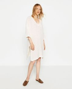 Image 1 of FINE KNIT DRESS from Zara