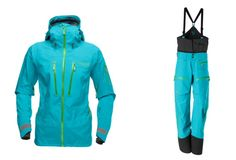 My new ski outfit. Norrona Lofoten jacket & pants. Iceberg Blue. Cannot wait to wear them this ski season!! Lennie I found my ski outfit,,,just to help you in you shopping for me.