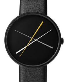 Crossover is the latest watch from Projects, designed by Milan-based Denis Guidone. Available in black, brass and brushed steel, our Crossover watches can be worn by men or women. Modern Watches, Cool Watches, Watches For Men, Crossover, Dezeen Watch Store, Diy Leather Bracelet, Army Watches, Pocket Watches, Led Watch